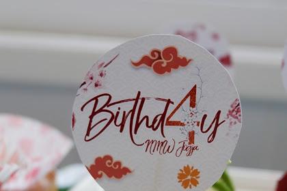 Happy Birthday NMW Skincare dan Sekelumit Cerita PRP #Birthd4yNMWJogja