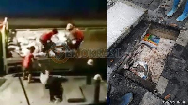 Video Sabotase Banjir Jakarta Beredar Lagi, Katanya Saluran Air Ditimbun Pasir, Ini Faktanya!