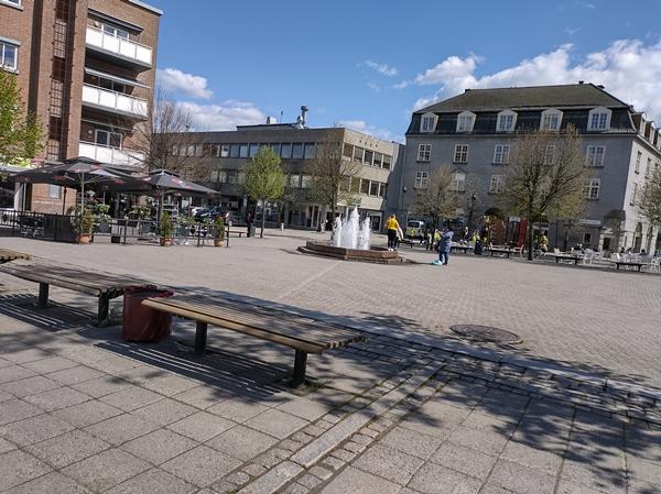 Søndre torg Hønefoss