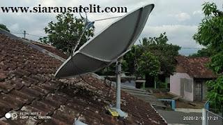 Transponder dan Chanel Thaicom 5 C Band Vertikal dan Horizontal