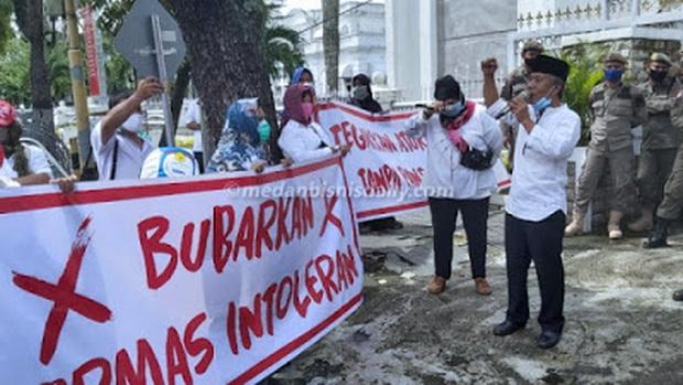 Koordinator Demo Anti Habib Rizieq Ngamuk, Uang Lelah Sudah Diberi, Tapi Malah Ditinggal Pergi