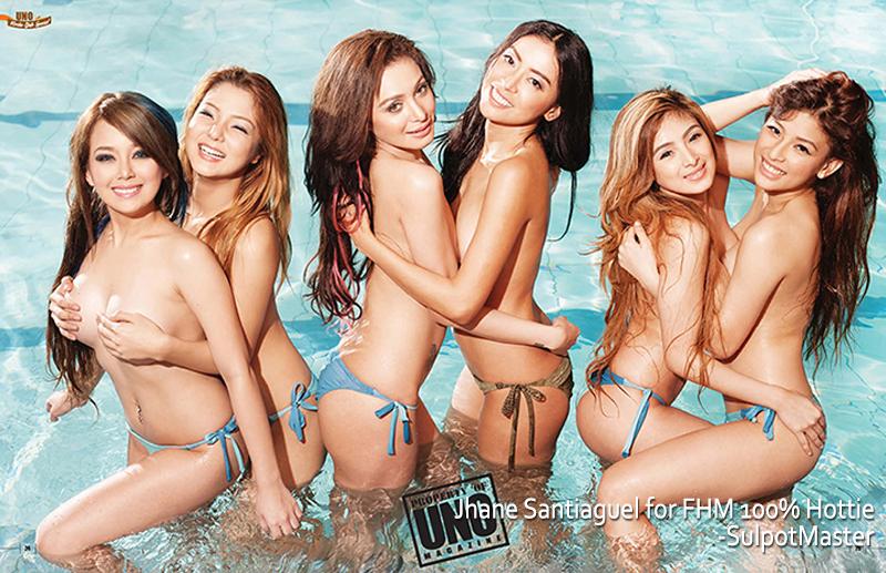 mocha girls uno magazine sexy bikini pics