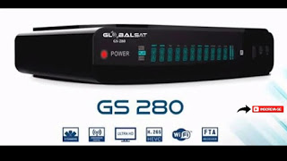 GLOBALSAT GS 280 NOVA ATUALIZAÇÃO V1.60 - 11/08/2021