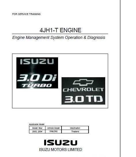 Technology News Otohui: ISUZU ENGINE 4JJ1-4JH1 TRAINING MODULE