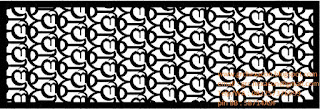 desain panel GRC krawangan aksara Bali Mang