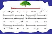الموسوعة المدرسية - الشجرة - أناشيد ومحفوظات للسنة الأولى ابتدائي