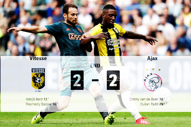 ajax vitesse,Vitesse,vitesse ajax,Ajax suffered