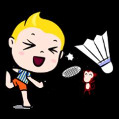 Rak Monkey Badminton (ENG)