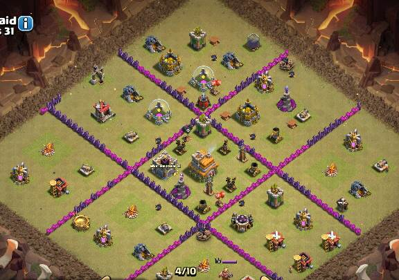 Base War Coc Th 7 Anti Naga 10