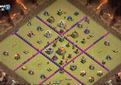 War Base TH 7 Terkuat