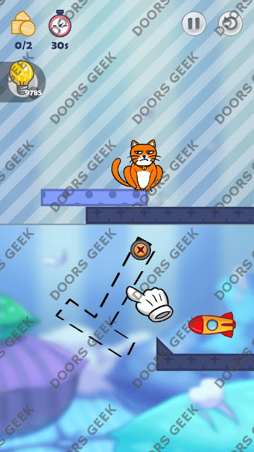 Hello Cats Level 146 Solution, Cheats, Walkthrough 3 Stars for Android and iOS