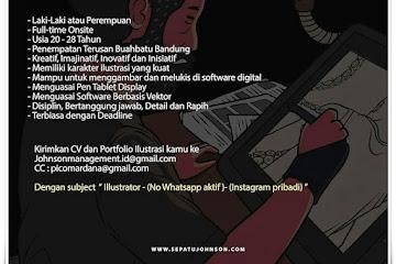 Loker Bandung Staff Ilustrator Johnson Management