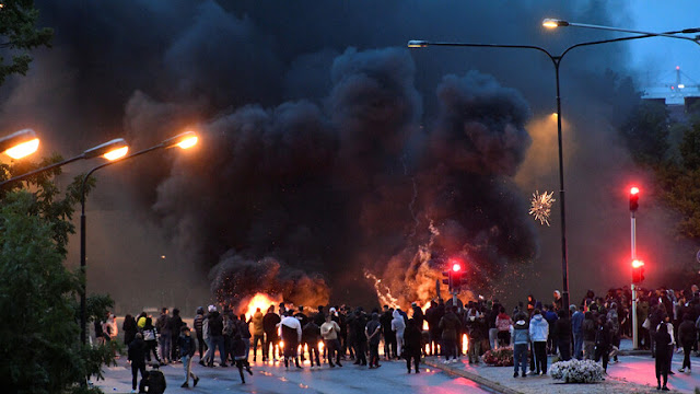 مظاهرات غاضبة في السويد عقب حرق نسخة من القرآن الكريم