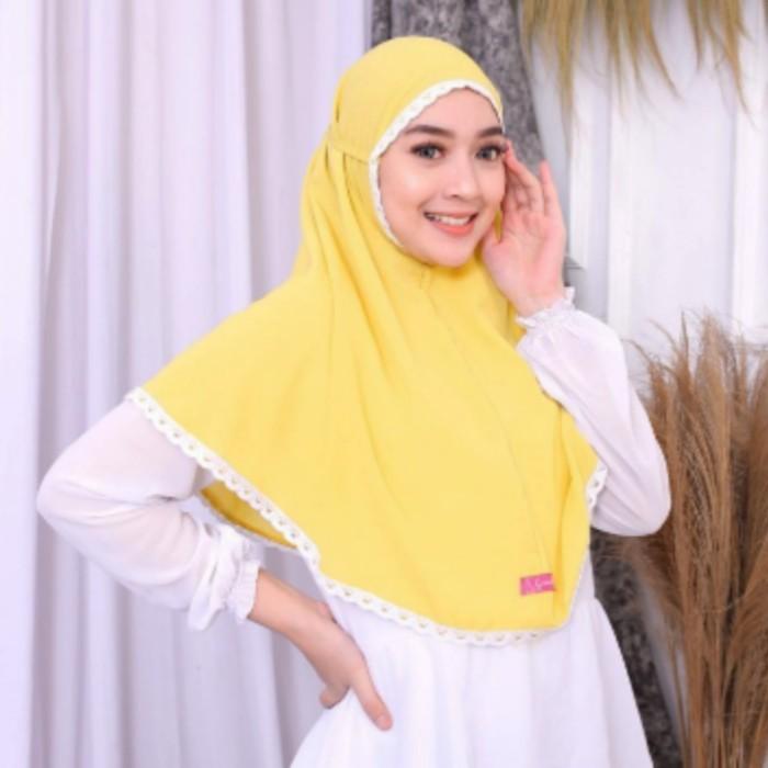 Jilbab Bergo Maryam Polos - Grosir Jilbab instan Maryam Renda Premium Original