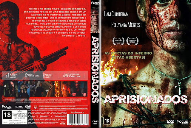 Capa DVD Aprisionados [Exclusiva]