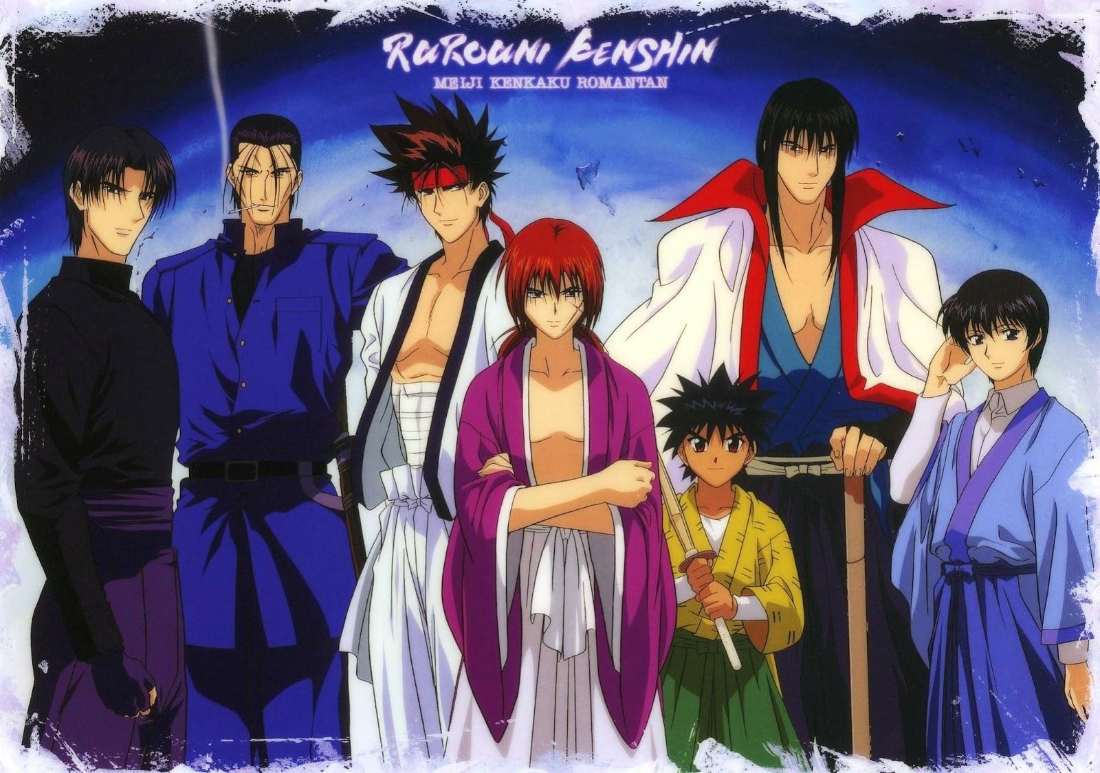 Rurouni Kenshin ซามไรพเนจร ภาค 1 3 ภาคพเศษ จบ พากยไทย