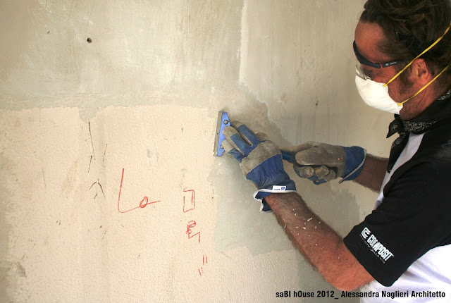 sverniciatura DIY paint stripping