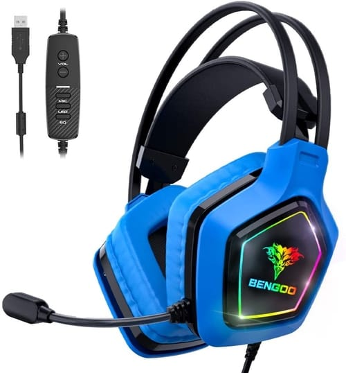 Review BENGOO G9200 USB Pro Gaming Headset for PC PS4