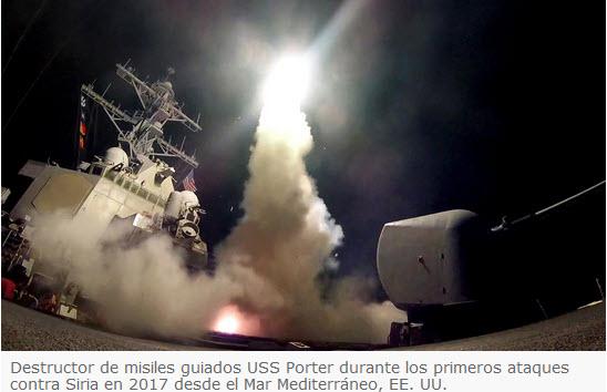 La OPAQ muestran que Trump bombardeó Siria con pruebas falsas
