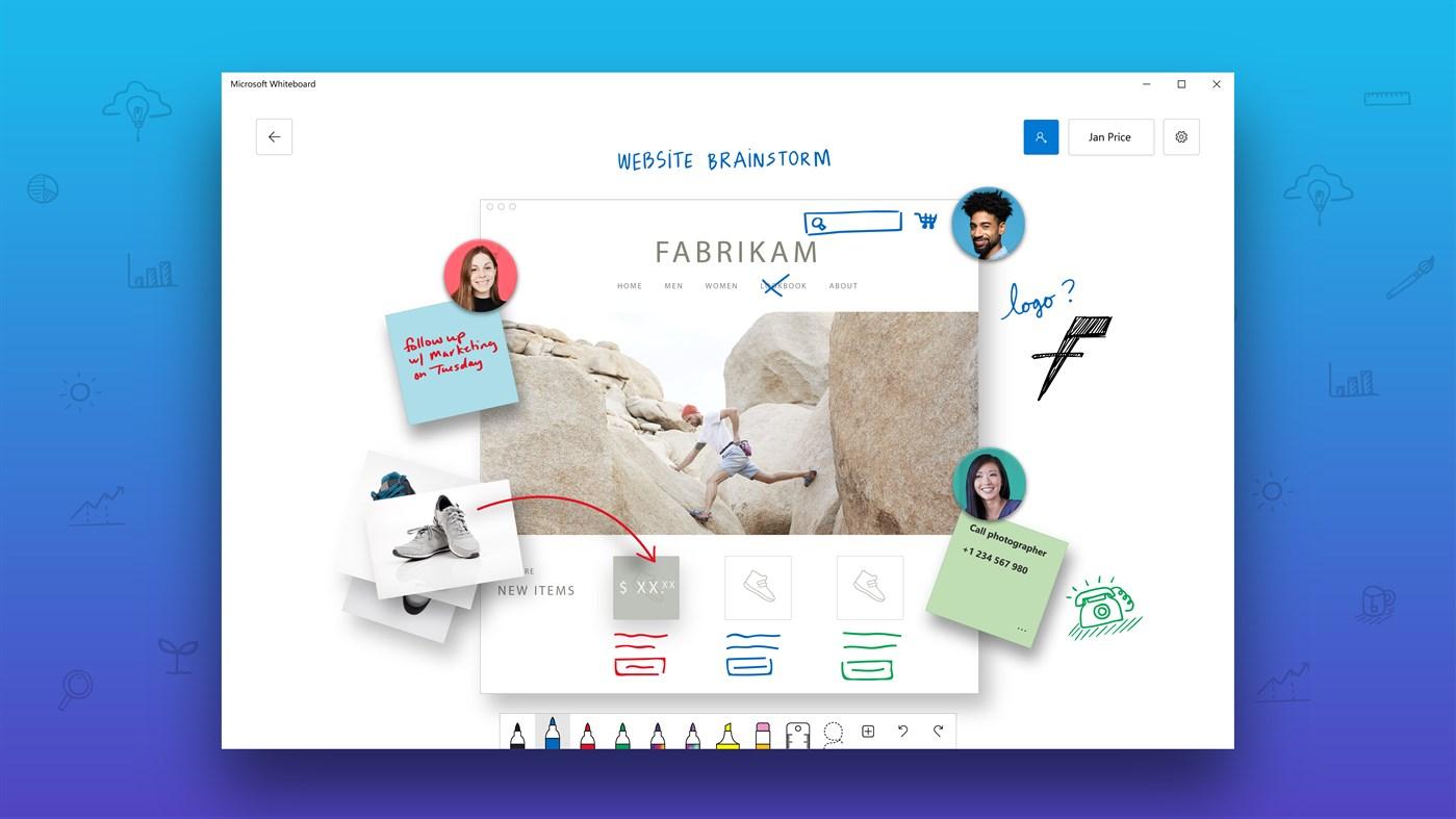 Collaborare a progetti da remoto in tempo reale con Microsoft Whiteboard
