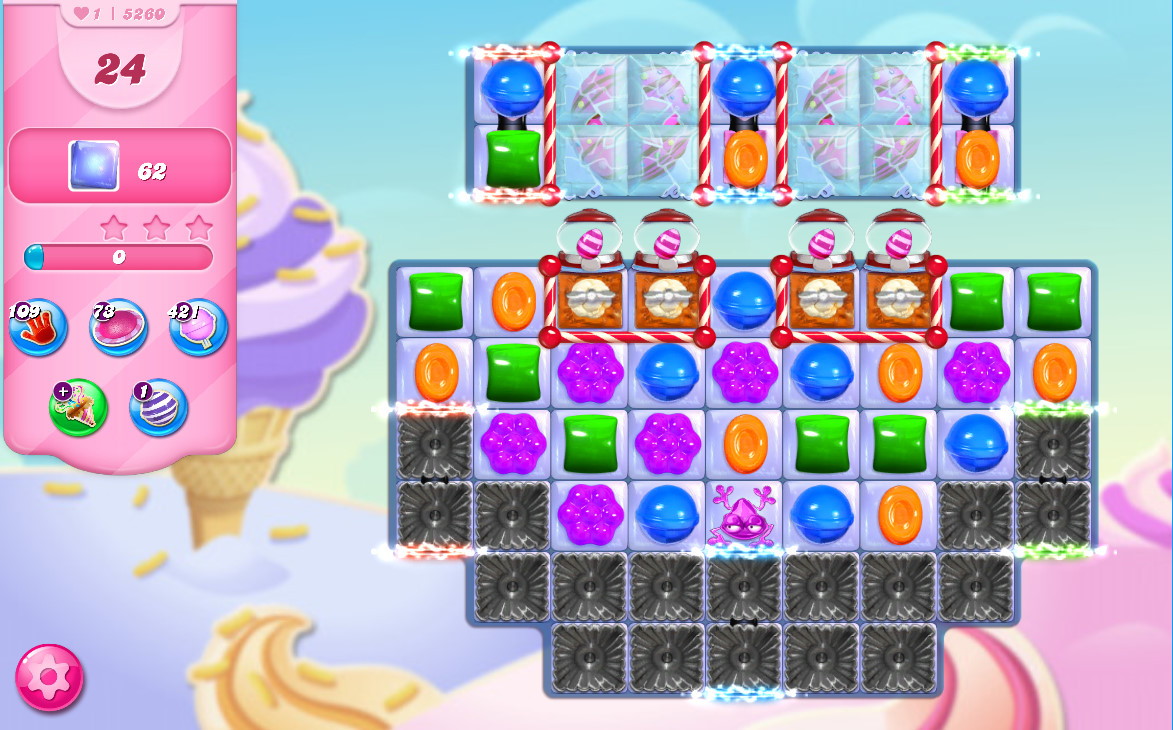 Candy Crush Saga level 5260