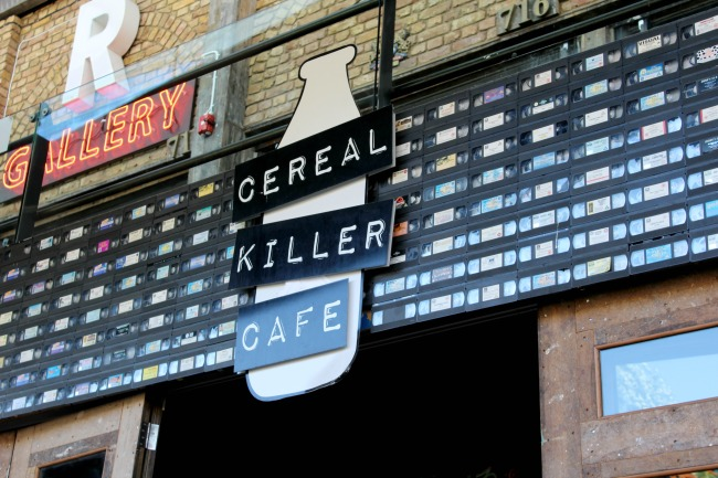 Visiting Camden's Cereal Killer Cafe: UK Travel. Nourish ME: www.nourishmeblog.co.uk
