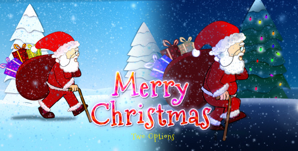 Merry Christmas  Santa Claus Photo 2015