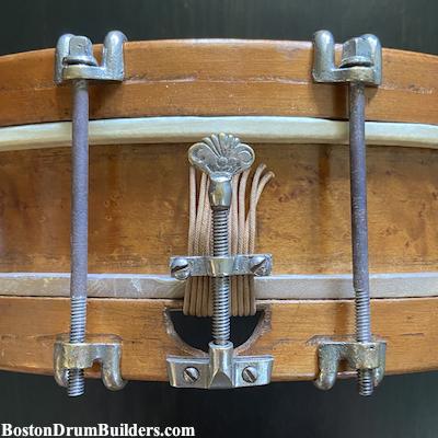 19th century snare drum strainer