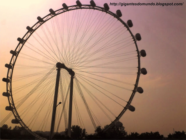 segunda maior roda gigante do mundo
