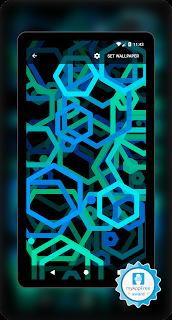 Live wallpaper, neon