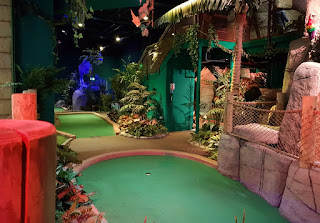 Volcano Falls Adventure Golf at Xscape Yorkshire