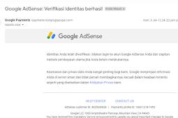 6 Tips Verifikasi ID Google Adsense Agar Cepat Di Terima
