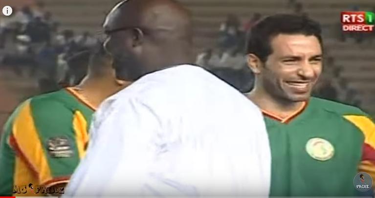 ملخص مباراة أساطير أفريقيا والسنغال 3-2 (مباراة ودية ) لمسات محمد أبوتريكة