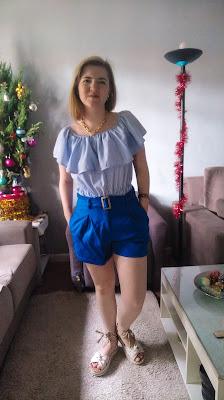 look azul para ano novo