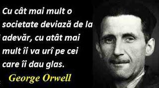 Maxima zilei: 25 iunie - George Orwell