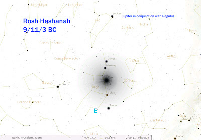 rosh hashanah, 2017, birth christ, 9/11, 3 BC, woman clothed sun, shabbat shuvah, 9/21/17, second coming, jupiter, regulus, star bethlehem, venus, conjunction, end times, bible prophecy, prophecy news,