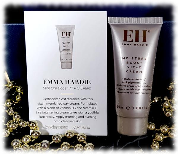 Emma Hardie Moisture Boost Vit + C Cream tube & card