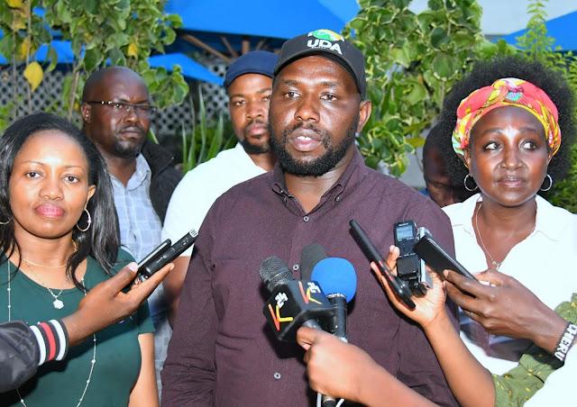 Senator Kipchumba Murkomen and Nakuru Senator Susan Kihika photo