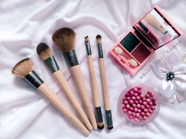 Pincéis de maquiagem ecológicos da Ecotools
