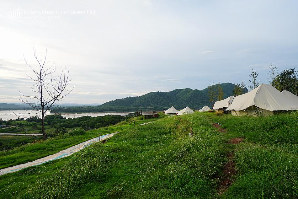 Chiangkhan River Green Hill เต็นท์ติดแอร์เชียงคาน