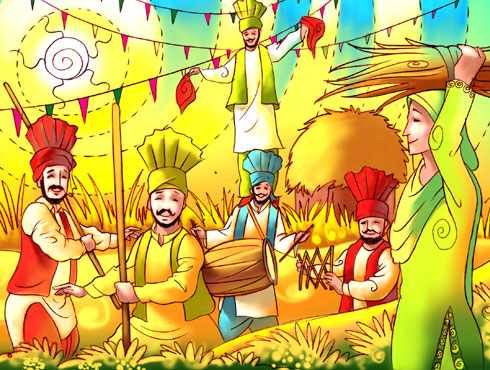 Happy Baisakhi Short Poem Rhymes Kavita In Hindi Punjabi Eng