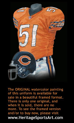 Chicago Bears 2005 uniform