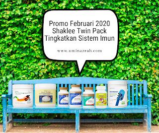 Promo Februari 2020 Shaklee Twin Pack Tingkatkan Sistem Imun