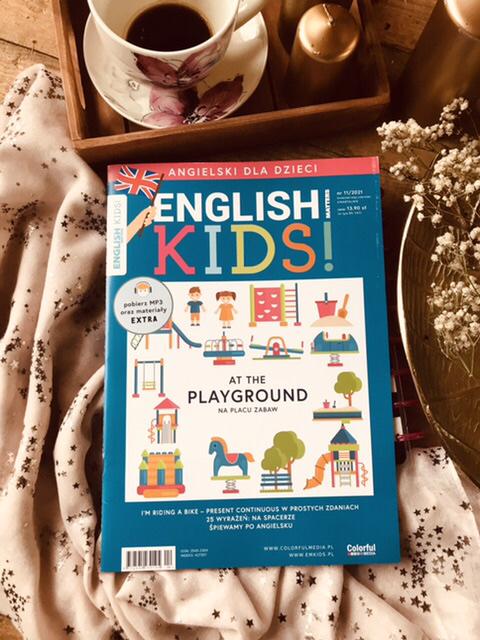 English Matters Kids nr 11/2021 - kwartalnik