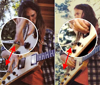 Neil Young's Flying V mit Tremolo