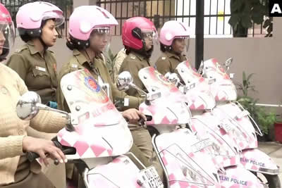 Pink Scooty Police