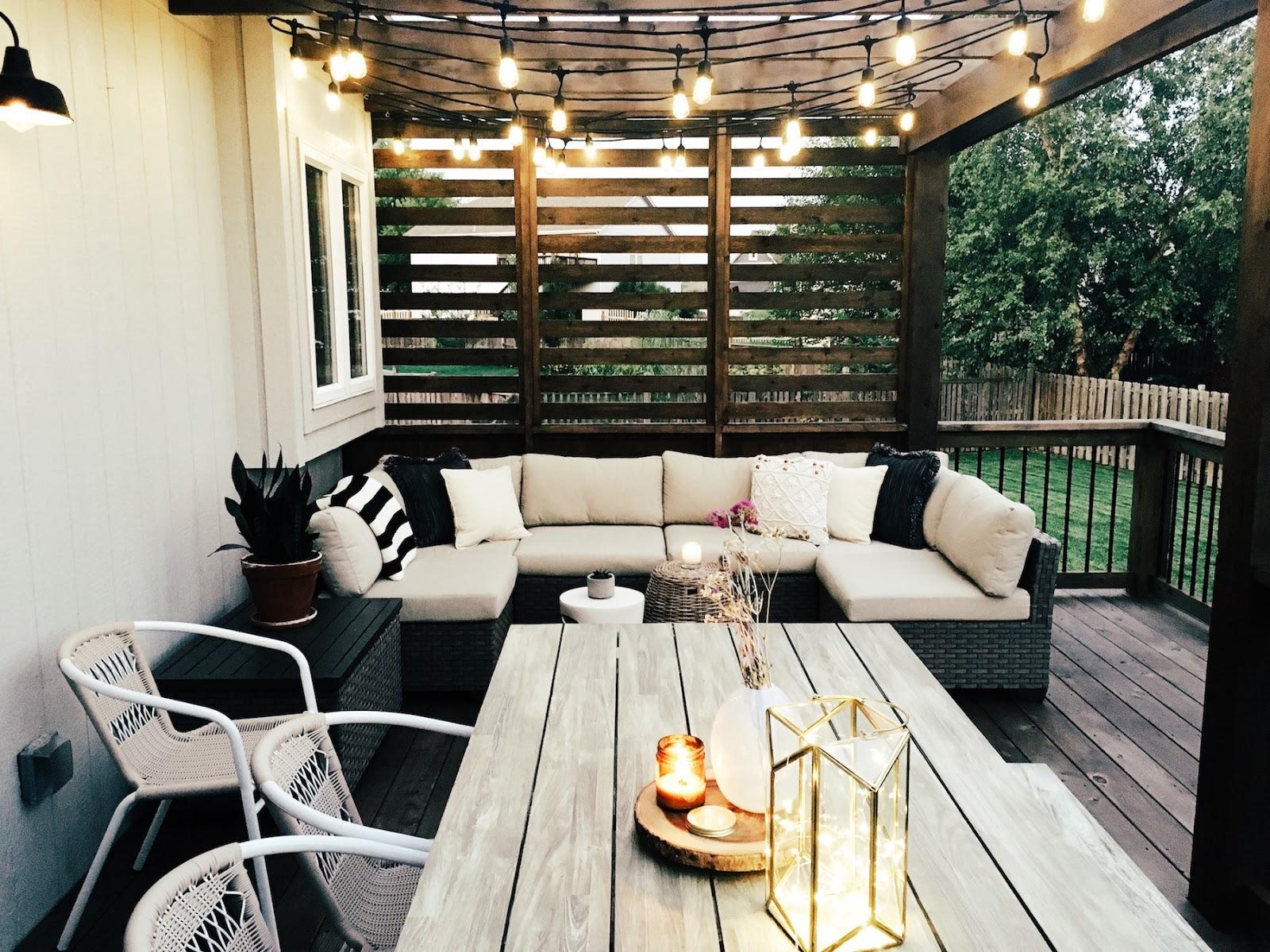 Our New Cedar Deck