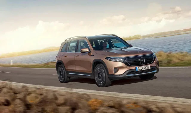 EQB .. the electric SUV from Mercedes