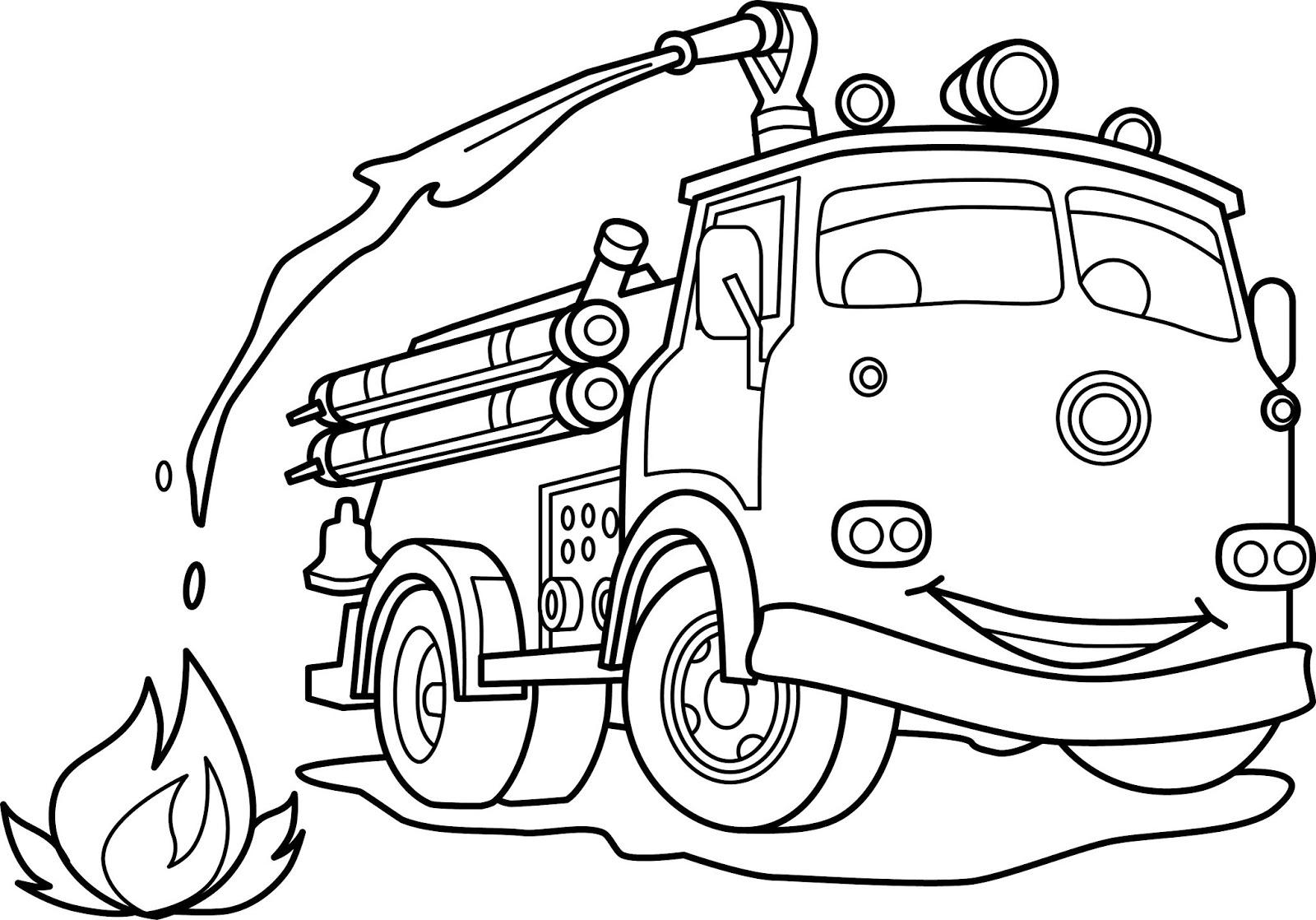 Animasi Mobil Damkar Download Belajar Menggambar Dan Mewarnai Mobil Pemadam Kebakaran Kuro