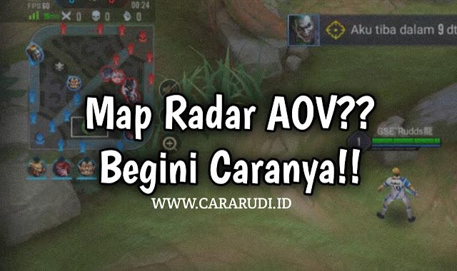 Map Radar AOV Indonesia
